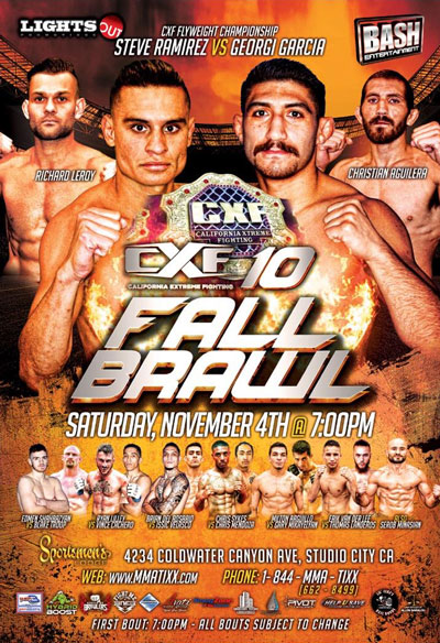 CXF10 - Fall Brawl