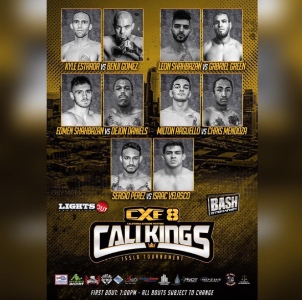 CXF8 👑 King of Cali | JUNE 17 | Fighters!