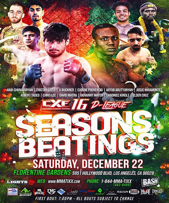 CXF 16 - Seasons Beatings
